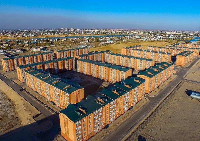 Биыл Қызылордада 76 тұрғын үй салынады