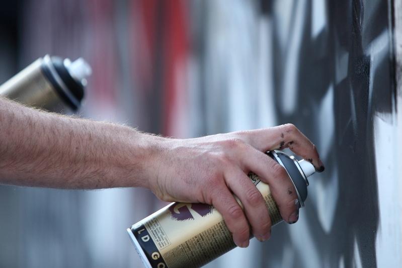 Қызылордада есірткі жарнамалайтын граффити жазған азаматша ұсталды
