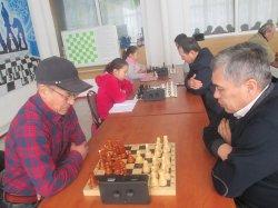 Шахматтан облыс біріншілігі өтті