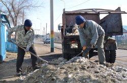 Аралда тазалық жұмыстары басталды