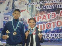 Астанадан алты жүлдемен оралды