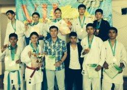 Каратэшілер қоржынында – 12 медаль