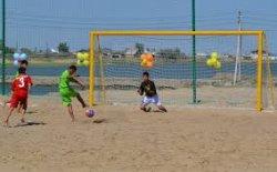 Ертең Қызылордада жағажай футболынан жарыс өтеді