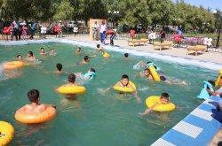 Жосалыда балаларға арналған бассейн ашылды
