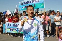 Нанкин Олимпиадасының жеңімпаздары қаржылай сыйақы алды