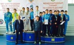 Каратэ-додан Сыр спортшылары халықаралық турнирде 14 жүлде иеленді