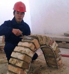 Студент Ерсұлтан Қасым «Үздік тас қалаушы» атанды