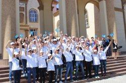 ҚР Президентін ұлықтау рәсімі құрметіне Сыр жастары флешмоб ұйымдастырды