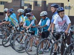 Қала жастары велошеру ұйымдастырды
