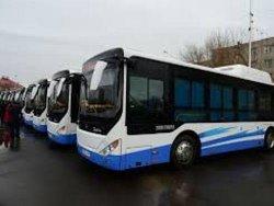 Қалаға жаңа автобустар келді