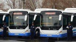 Қызылордаға мүгедектердің мініп-түсуіне ыңғайлы жаңа автобустар әкелінді