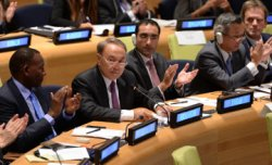 Н.Назарбаев: БҰҰ штаб-пәтерін Астанаға да көшіруге болады