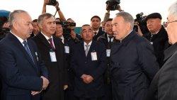 Елбасы Қызылордада жем шығару зауытында болды