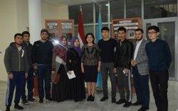 Қызылорда облысы  Нұр-Мүбарак студенттеріне  нақты қолдау жасауда