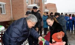 Жаңа жыл қарсаңында 120 қызылордалық отбасы баспаналы болды