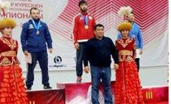 Қызылордалық палуандар Таразда өткен ел чемпионатынан жүлделі оралды