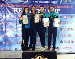 Қызылордалық каратэшілер халықаралық турнирден 11 жүлде иеленді