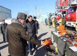 ҚР Ішкі істер министрі Қызылорда облысы әкімдігі жанындағы Ахуалдық орталықтың жұмысымен танысты