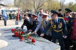 Байқоңыр Юрий Гагариннің ғарышқа ұшуының 55 жылдығын Королев даңғылындағы шерумен атап өтті