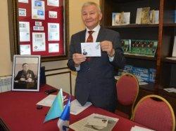 Мөрәлі Шәменовке арналған пошта маркасы айналымға енді