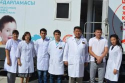 Қызылорда облысында «Денсаулық керуені» кезекті рет жолға шықты
