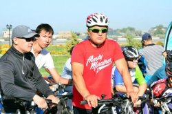 Қызылордада Конституция күніне арналған бұқаралық велошеру өтті