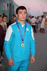Қызылордалық дзюдошы – жастар арасында Азия чемпионы