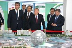 Нұрсұлтан Назарбаев ЭКСПО-2017 нысандарының дайындығын тексерді