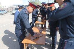 Жол-патрульдік полиция саптық бөлінісінің «Үздік маманы» анықталды