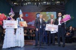 Мұқан Төлебаев атындағы байқаудың бас жүлдесі Астана мен Қызылордаға бұйырды