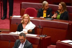 Аустралияда саясаткер парламентте отырып бала емізді
