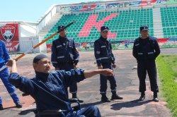 Құтқарушылар олимпиада кезінде мүмкіндігі шектеулі жандардың қауіпсіздігін қамтамасыз етті