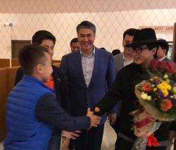 Джеки Чан Астанаға келді