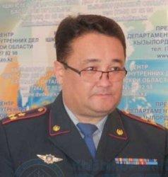 Қызылорда облысы ІІД бастығының бірінші орынбасары тағайындалды
